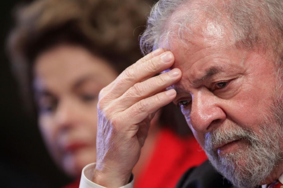 Luiz Inacio Lula da Silva en 2015.... (PHOTO ERALDO PERES, AP)