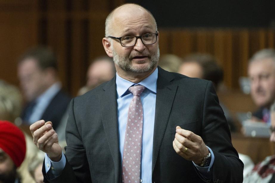 Le ministre fédéral de la Justice, David Lametti... (PHOTO ADRIAN WYLD, LA PRESSE CANADIENNE)