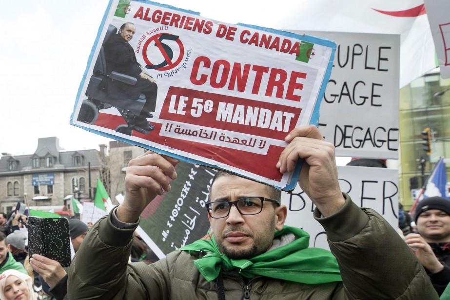 La candidature du président algérien Abdelaziz Bouteflika à... (PHOTO ROBERTSKINNER, LA PRESSE)