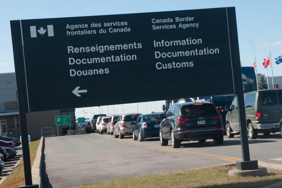 Traverser les frontières internationales du Canada avec de... (ARCHIVES LA VOIX DE L'EST)