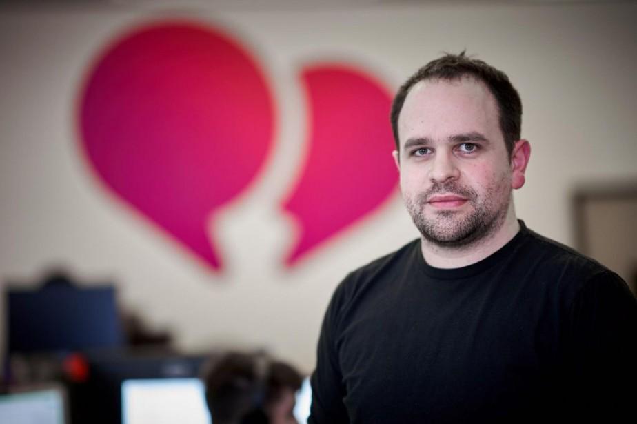 Mike Gozzo, chef de la technologie de Smooch... (PHOTO ANDRÉ PICHETTE, LA PRESSE)