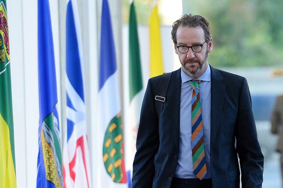 Gerald Butts, ex-bras droit de Justin Trudeau qui... (PHOTO SEAN KILPATRICK, ARCHIVES LA PRESSE CANADIENNE)