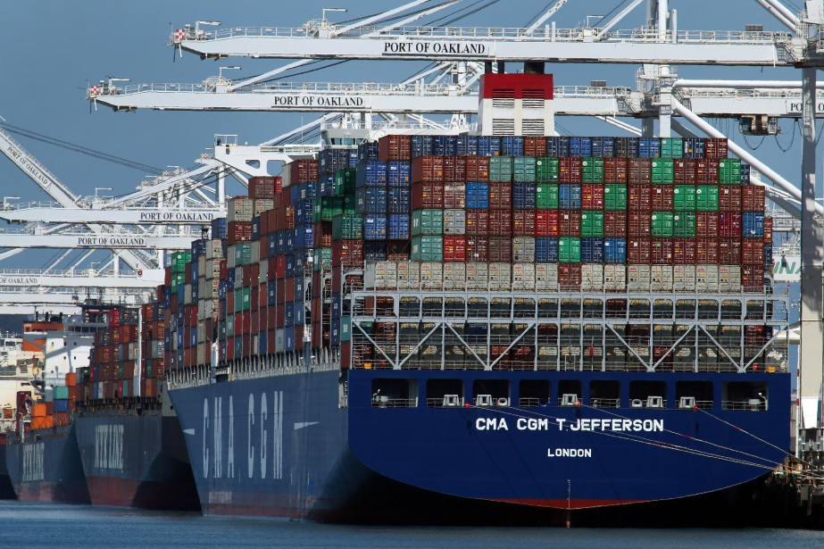 Les États-Unis ont enregistré des records d'importations de... (PHOTO BEN MARGOT, ARCHIVES AP)