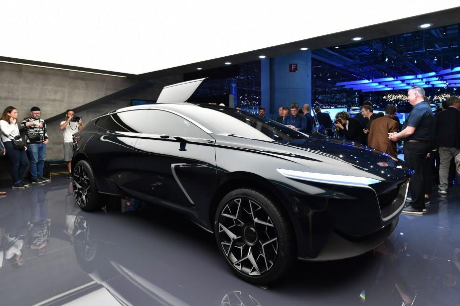 L'Aston Martin Lagonda All-Terrain. | 6 mars 2019
