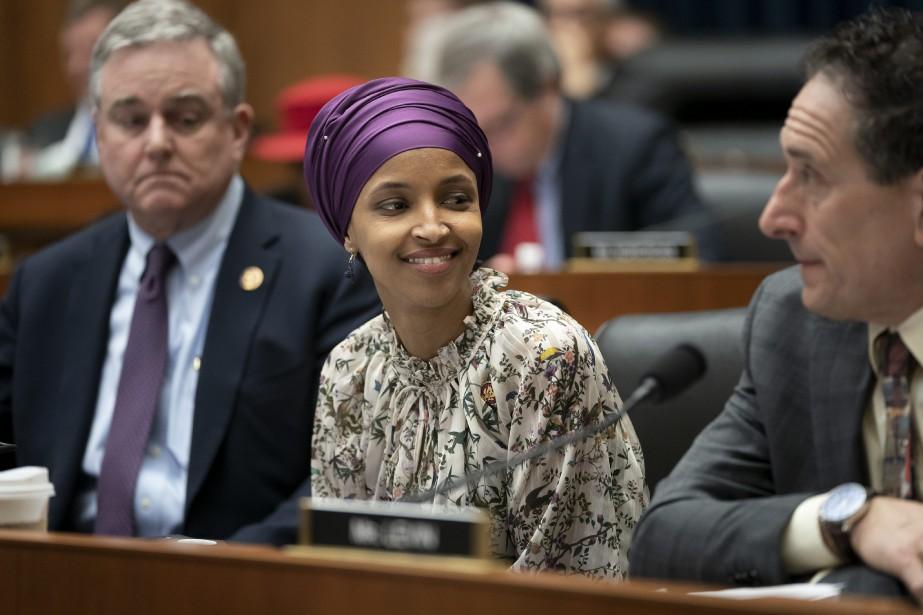 Ilhan Omar est la seule élue fédérale à... (PHOTO AP)