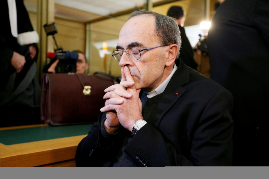 Le cardinal Philippe Barbarin.... (PHOTO EMMANUEL FOUDROT, ARCHIVES REUTERS)