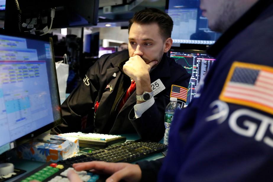 Les marchés nord-américains ont perdu du... (PHOTO RICHARD DREW, ARCHIVES AP)