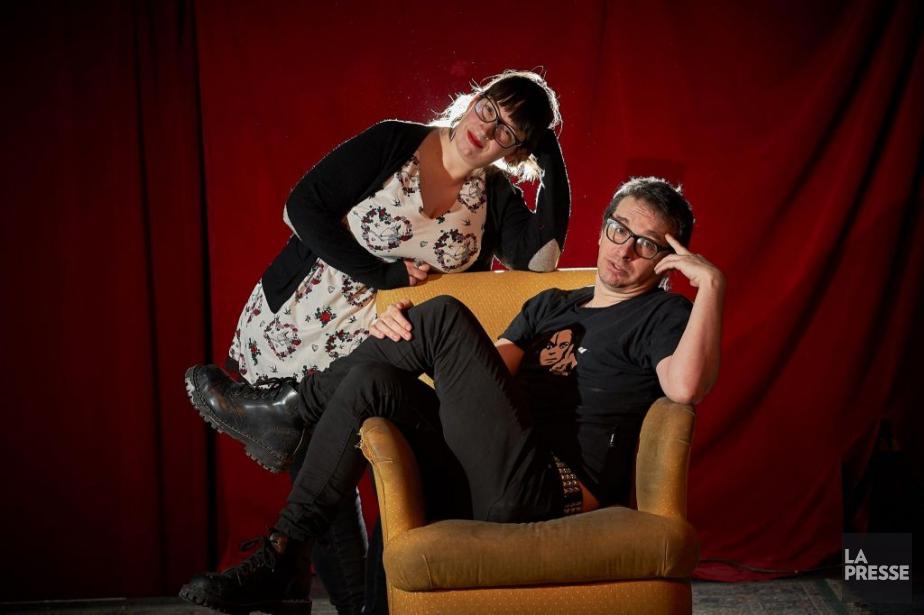 Catherine Cormier-Larose et Mathieu Arsenault sont les cerveaux... (PHOTO ANDRÉ PICHETTE, LA PRESSE)