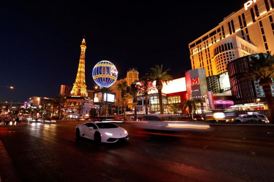 Las Vegas demeure une destination attrayante.... (PHOTOMIKE BLAKE, ARCHIVES REUTERS)