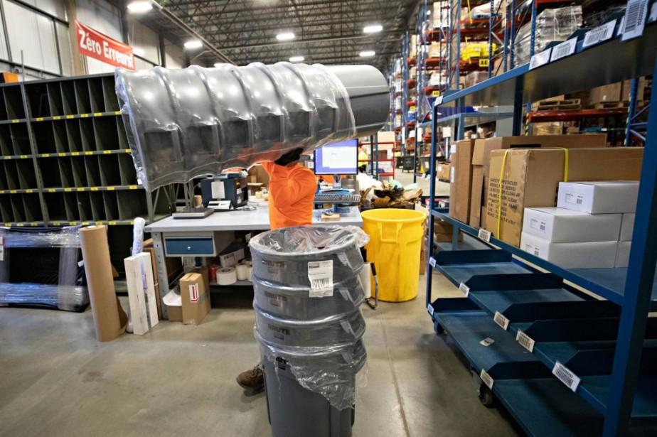Le fournisseur d'équipements industriels Tenaquipaura recours à des... (PHOTO PATRICK SANFAÇON, LA PRESSE)