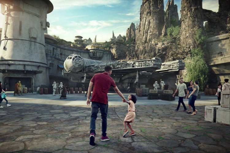 Le secteur Star Wars Galaxy's Edge ouvrira dans... (IMAGE FOURNIE PAR DISNEY)
