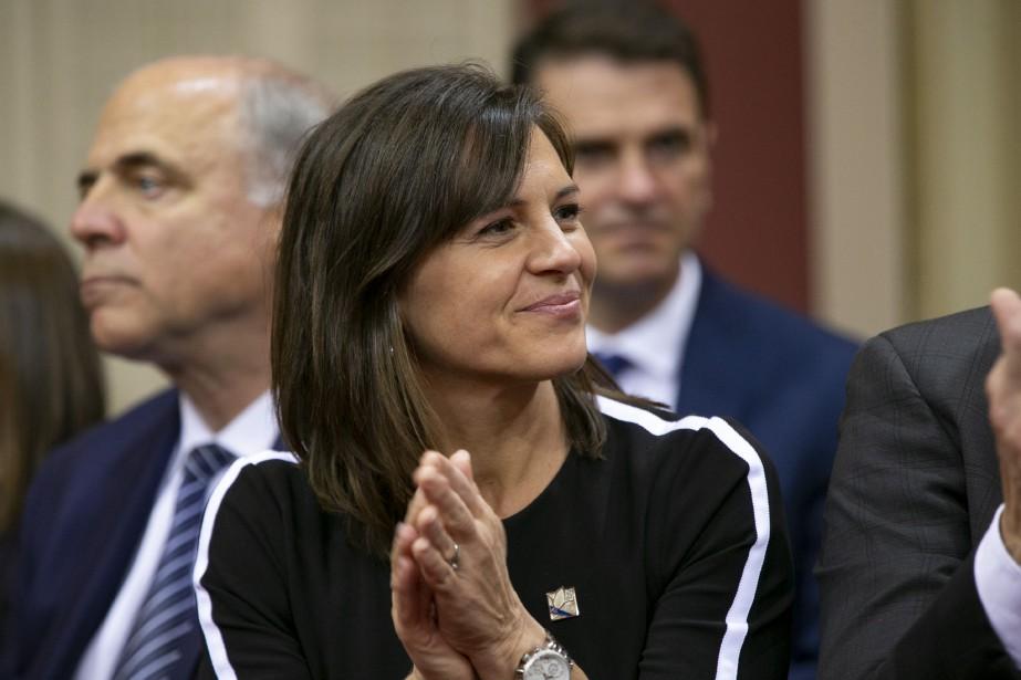 La ministre québécoise responsable de la Condition féminine,... (PHOTO DAVID BOILY, ARCHIVES LA PRESSE)