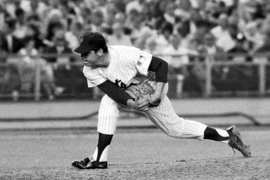 Tom Seaver avec les Mets de New York... (PHOTO ARCHIVES ASSOCIATED PRESS)