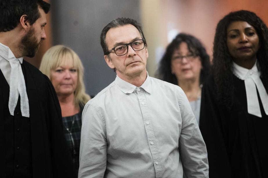 Un jury a déclaré Michel Cadotte coupable d'homicide... (PHOTO MARCO CAMPANOZZI, LA PRESSE)