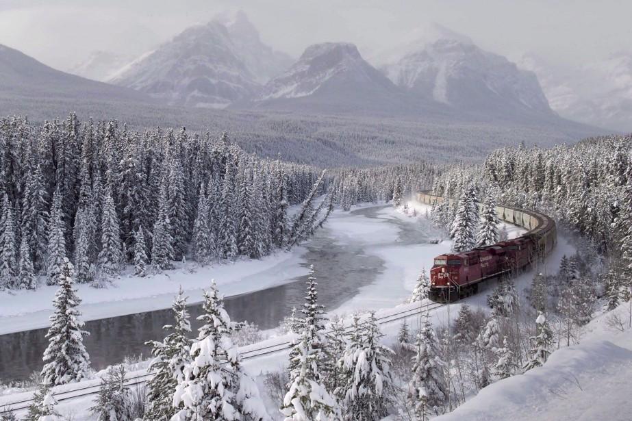 Le Canadien Pacifique (CP) fait appel d'un décret du... (PHOTO FRANK GUNN, PC)