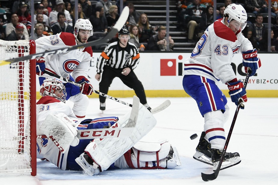 Carey Price a accordé 8buts sur 29lancers.... (PHOTO KELVIN KUO, USA TODAY)