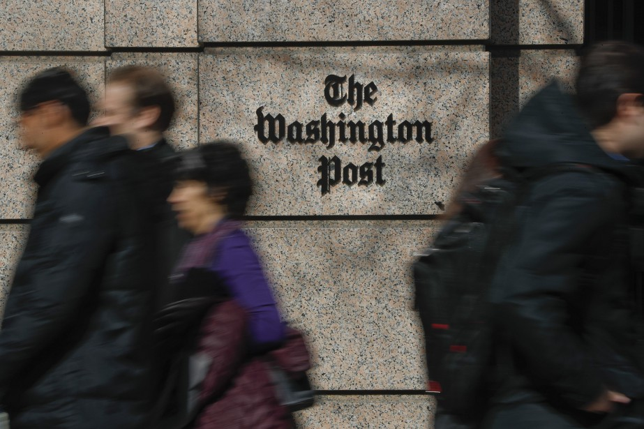 Au Washington Post, un programme appelé Heliograf a... (PHOTO PABLO MARTINEZ MONSIVAIS, AP)