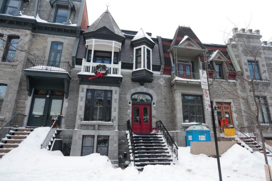 La maison de Louise Brossoit et Robert Girard... (PHOTO MARTIN CHAMBERLAND, LA PRESSE)