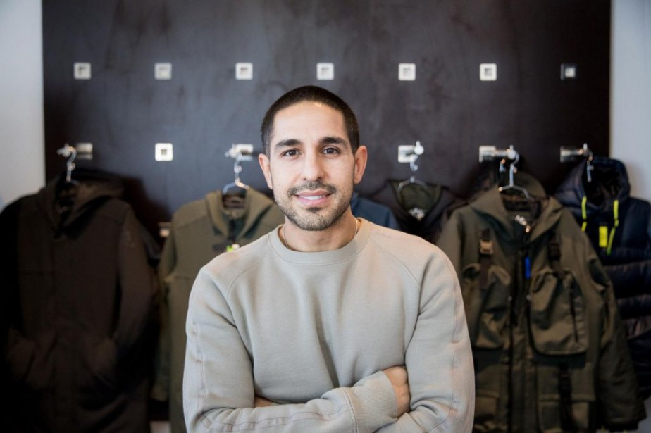 Mayer Vafi, fondateur de l'entreprise Better Narrative... (PHOTO MARCO CAMPANOZZI, LA PRESSE)