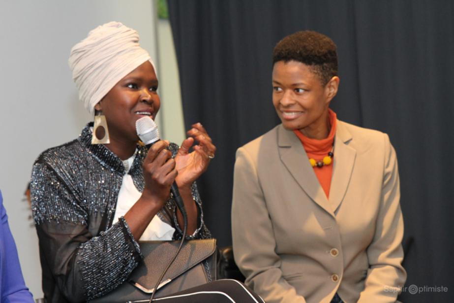 Deux entrepreneures participant au programme, Dieynaba Samb et... (Photo fournie par ACEM Microcrédit MTL)