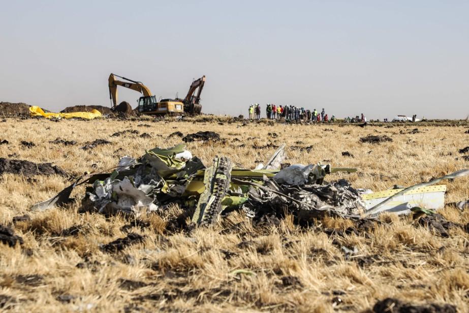 L'accident, qui a coûté la vie aux 157personnes... (PHOTO MICHAEL TEWELDE, AFP)