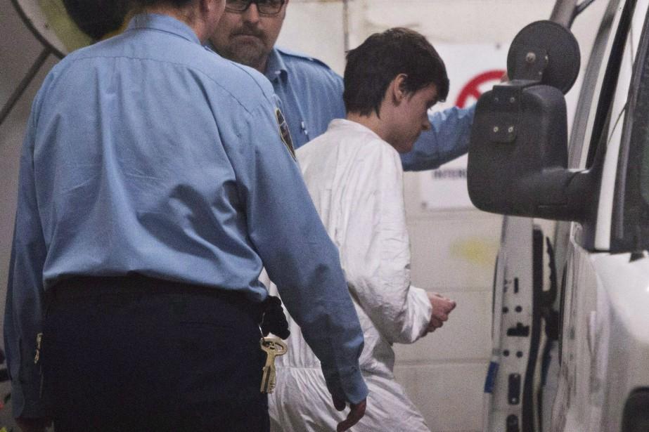 AlexandreBissonnette a été condamné à une peine de... (PHOTO JACQUESBOISSINOT, ARCHIVES LA PRESSE CANADIENNE)