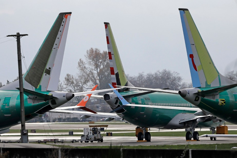 Des Boeing 737 MAX 8 immobilisés à Renton, dans l'État... (PHOTO TED S. WARREN, ASSOCIATED PRESS)