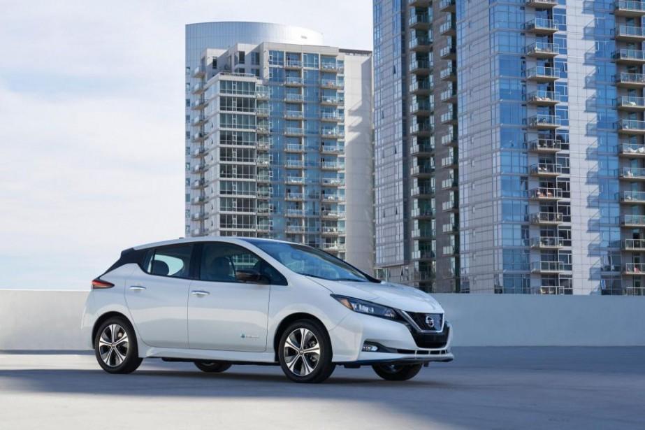 Nissan Leaf 2019... (PHOTO FOURNIE PARNISSAN)