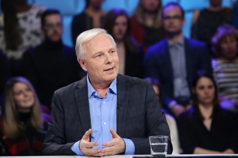 L'ancien chef du Parti québécois Jean-François Lisée est... (PHOTO KARINE DUFOUR, FOURNIE PAR ICI RADIO-CANADA)