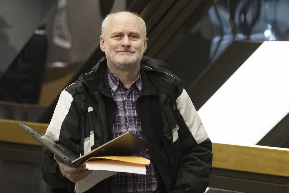 Robert (Robin) Edgar au palais de justice de... (PHOTO ROBERT SKINNER, LA PRESSE)