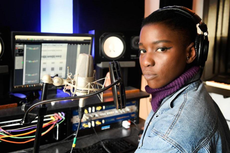 La rappeuse Sarahmée, dont le nouvel album Irréversible... (Photo Bernard Brault, La Presse)