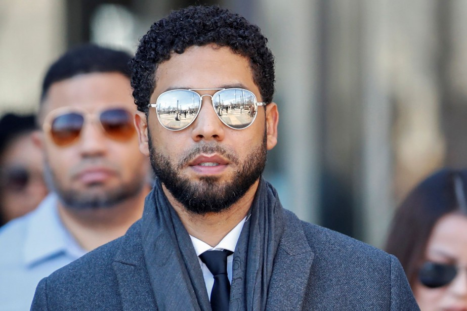 Jussie Smollett a plaidé non coupable à des... (PHOTO KAMIL KRZACZYNSKI, REUTERS)