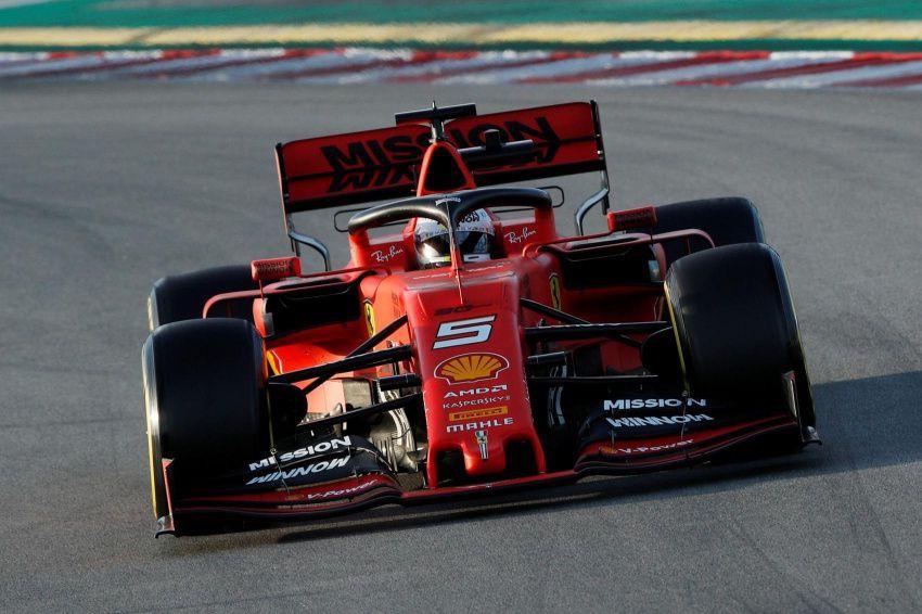 Sebastian Vettel, de l'écurie Ferrari... (PHOTO ALBERT GEA, ARCHIVES REUTERS)