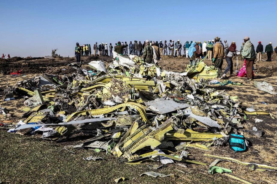 La tragédie d'Ethiopian Airlines a fait 157 morts.... (PHOTO MICHAEL TEWELDE, AGENCE FRANCE-PRESSE)