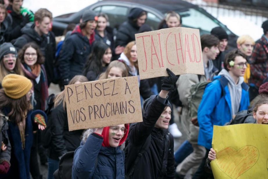 Plus de 148 580élèves et étudiants des niveaux... (PHOTO FRANÇOIS ROY, ARCHIVES LA PRESSE)