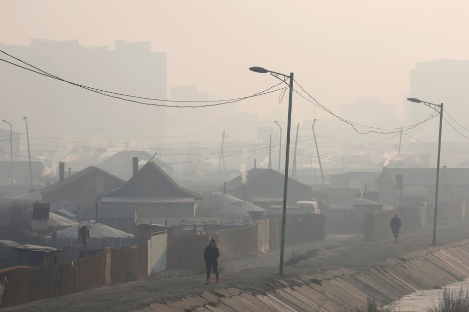 Oulan-Bator, où vit près de la moitié de... (PHOTO RENTSENDORJ BAZARSUKH, REUTERS)