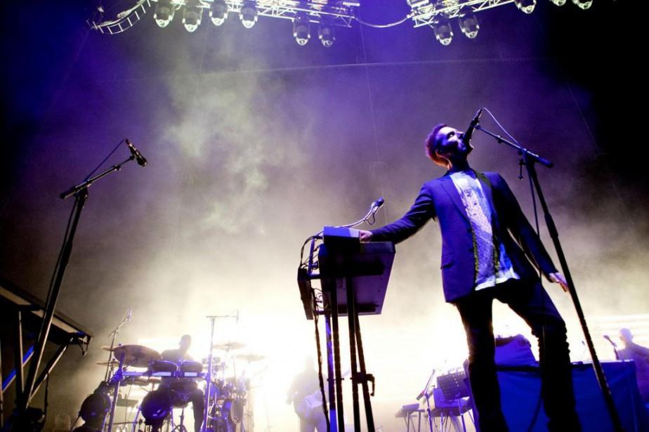 Le chanteur de Massive Attack, Robert Del Naja.... (PHOTO MARCO CAMPANOZZI, ARCHIVES LA PRESSE)