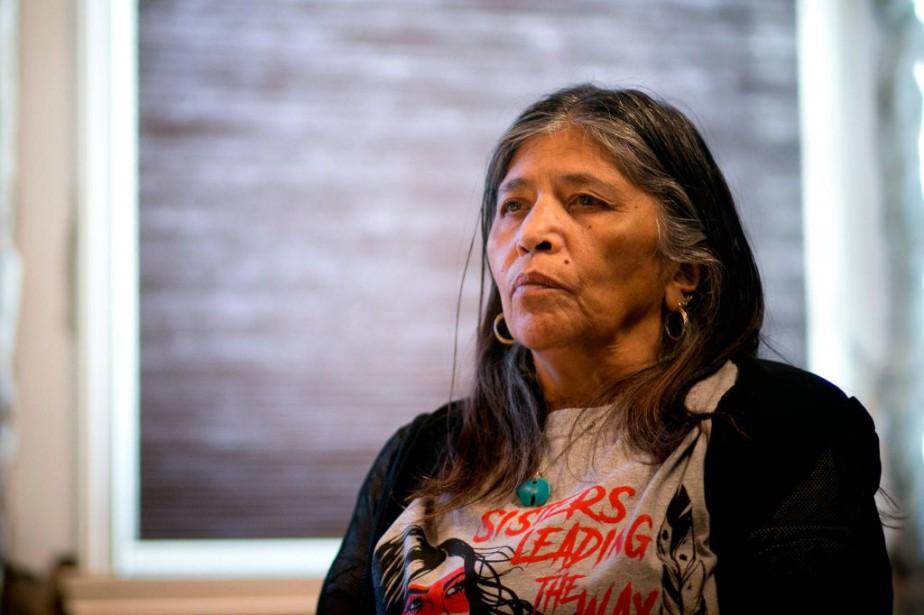 Mohawk de Kahnawake, Sedalia Fazio a procédé à... (PHOTO FRANÇOIS ROY, LA PRESSE)