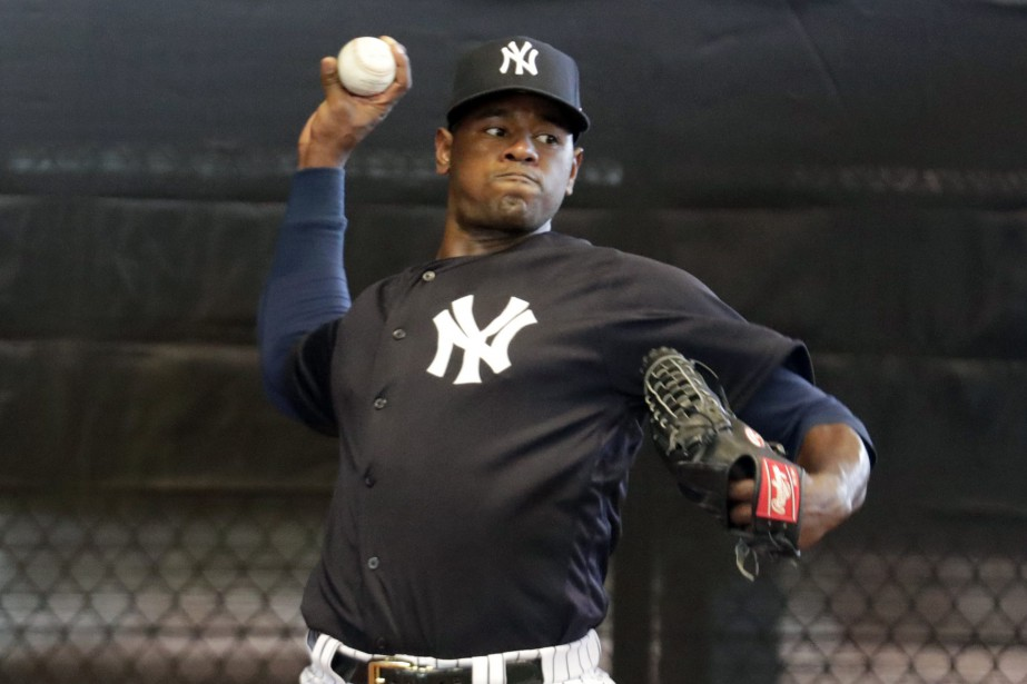 Luis Severino... (PHOTO LYNNE SLADKY, ARCHIVES ASSOCIATED PRESS)