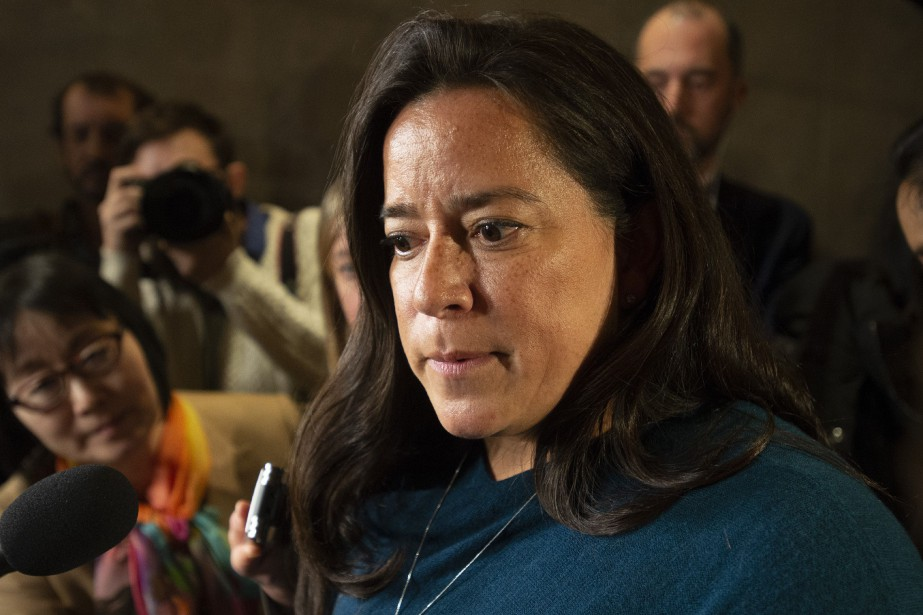 Jody Wilson-Raybould a claqué la porte du cabinet... (PHOTO ADRIAN WYLD, ARCHIVES LA PRESSE CANADIENNE)