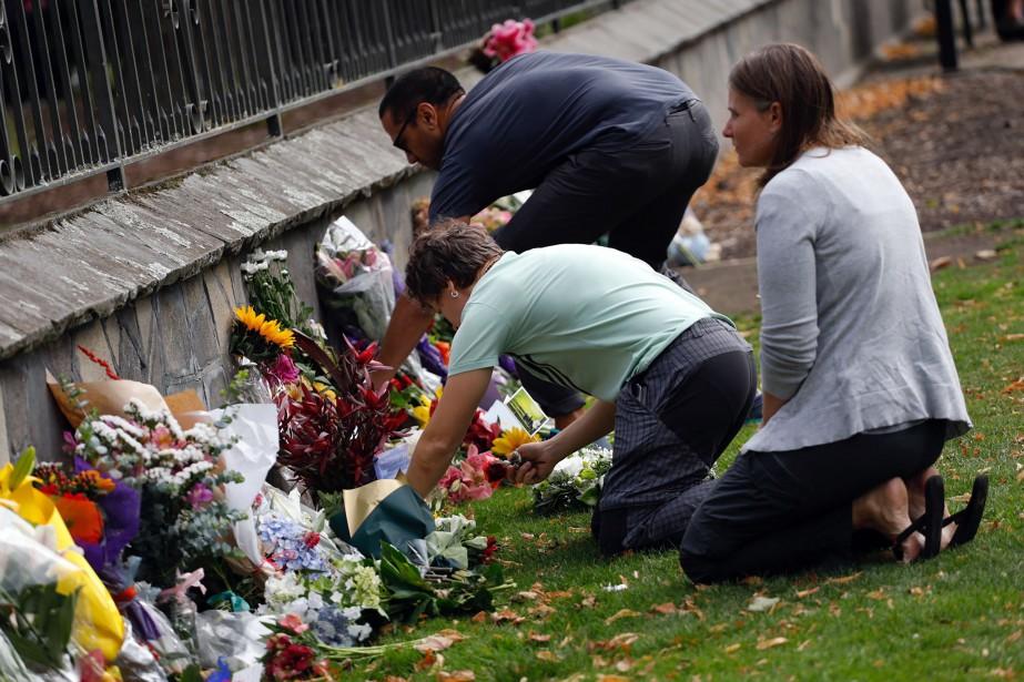 Un extrémiste de droite qui a fait un carnage dans... (PHOTO TESSA BURROWS, AFP)