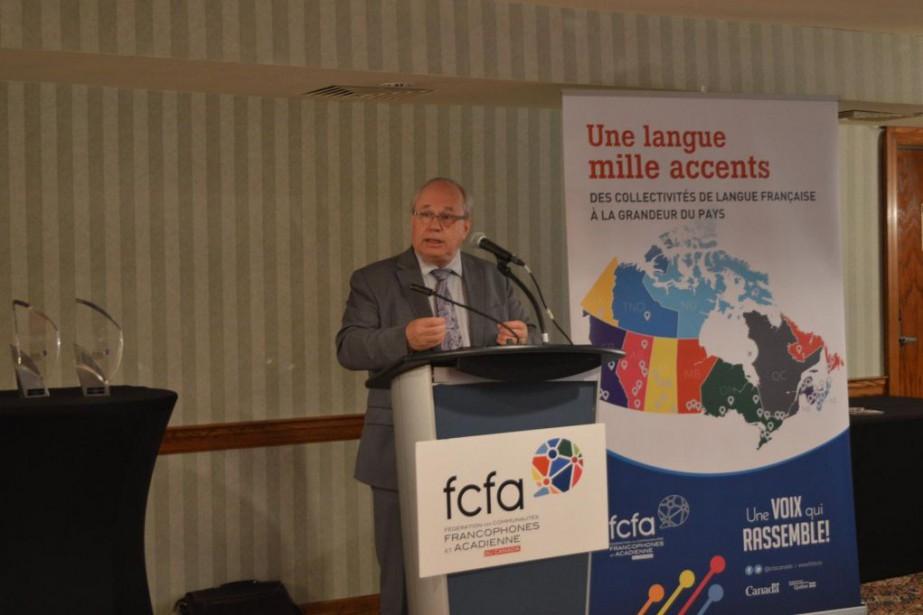 Jean Johnson, président de la Fédération des communautés... (PHOTO FOURNIE PAR LA FCFA)