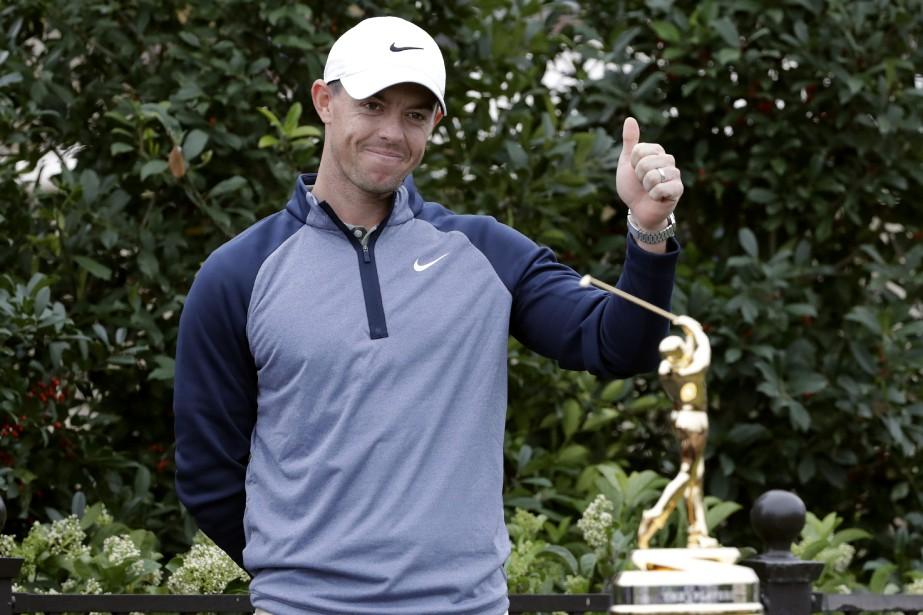 Le Nord-Irlandais Rory McIlroy a remporté le... (PHOTO LYNNE SLADKY, AP)
