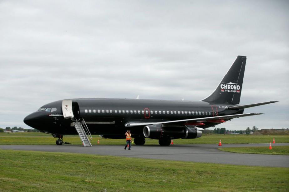 À partir du 1eravril, les Boeing737-200 deChrono décolleront... (PHOTO MARTIN CHAMBERLAND, ARCHIVES LA PRESSE)