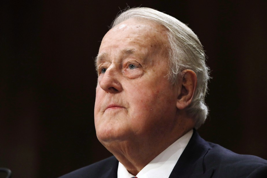Brian Mulroney... (PHOTO JACQUELYN MARTIN, ARCHIVES ASSOCIATED PRESS)