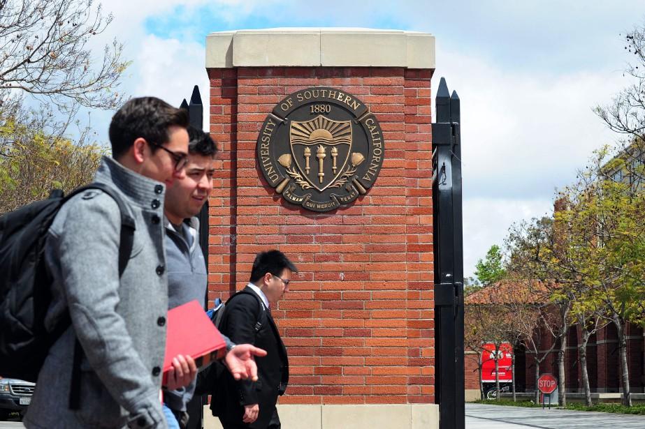 L'université de Californie du Sud (USC) fait partie... (PHOTO FREDERIC J. BROWN, ARCHIVES AFP)