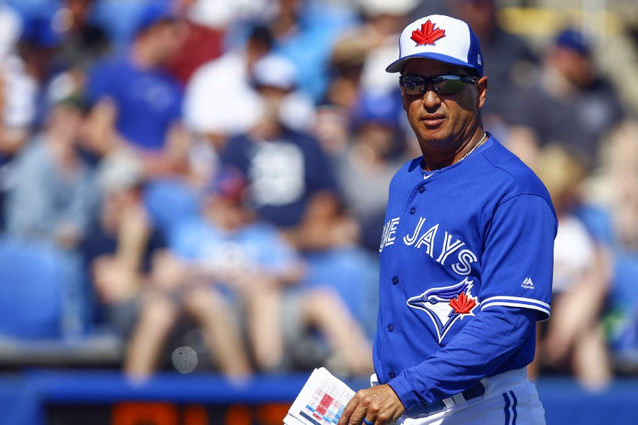 Le nouveau gérant des Blue Jays de Toronto,... (PHOTO BUTCH DILL, USA TODAY SPORTS)