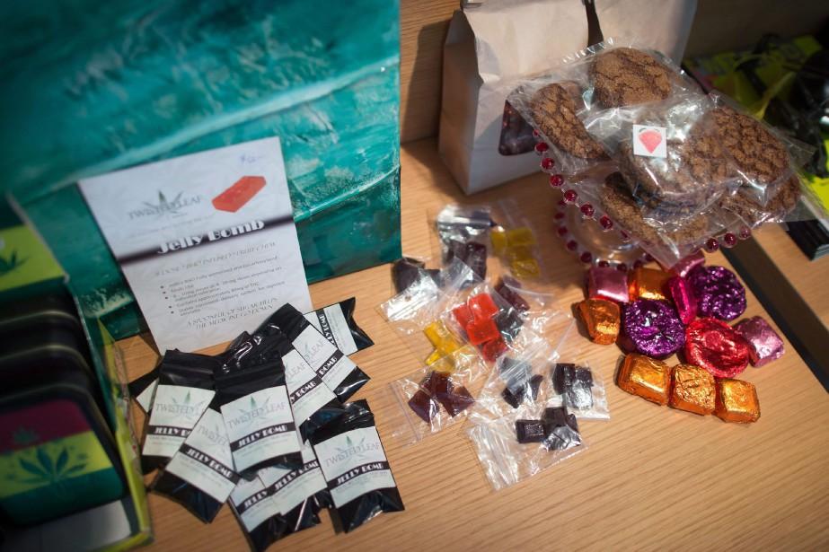 La vente légale du cannabis comestible, des extraits... (PHOTO DARRYL DYCK, ARCHIVES LA PRESSE CANADIENNE)