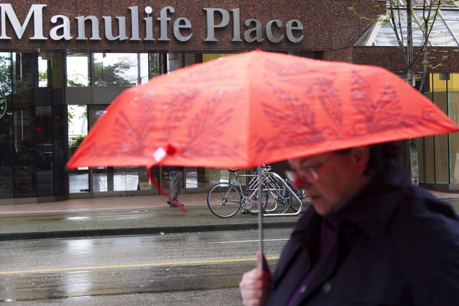 Les bureaux de Manuvie à Vancouver.... (PHOTO JONATHAN HAYWARD, THE CANADIAN PRESS)