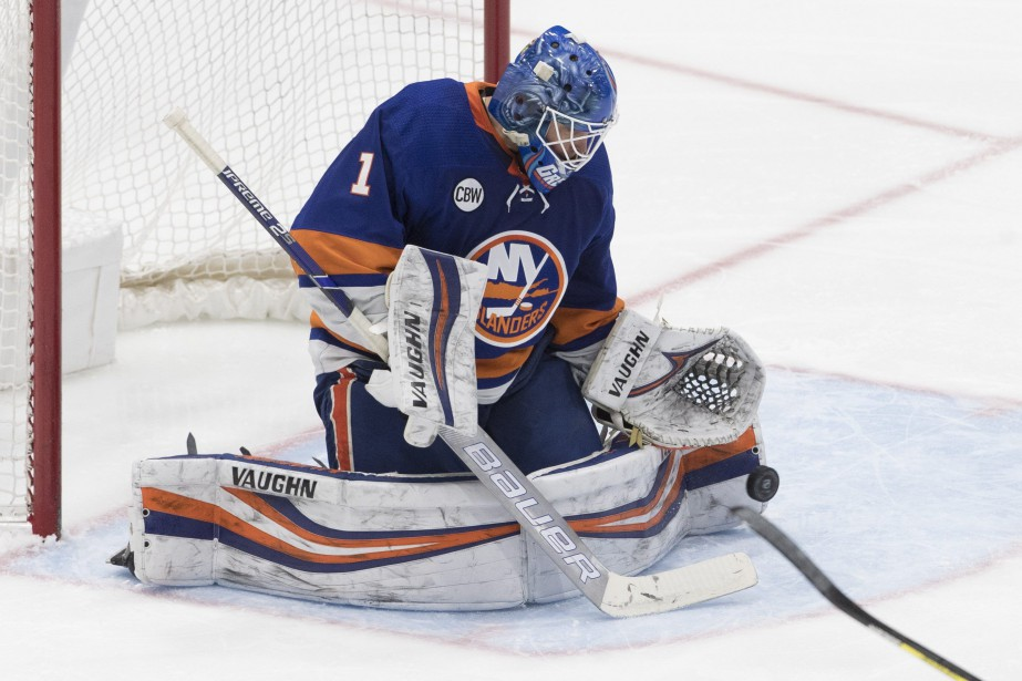 Le gardien des Islanders de New York, Thomas... (PHOTO MARY ALTAFFER, ASSOCIATED PRESS)